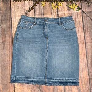 Talbots Jean Skirt Petites Size 4